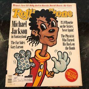 Rolling Stone Magazine Michael Jackson Cover